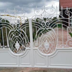 Ковка ограды калитки ворота1