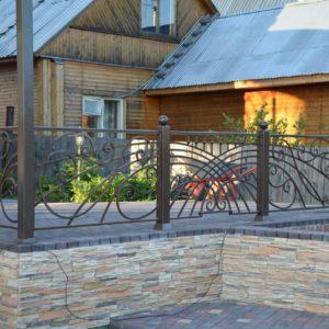 Ковка ограды калитки ворота10