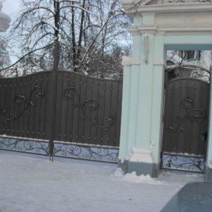 Ковка ограды калитки ворота13