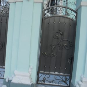 Ковка ограды калитки ворота14