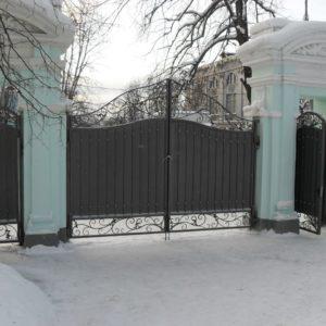 Ковка ограды калитки ворота15