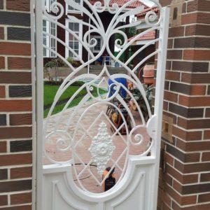 Ковка ограды калитки ворота3