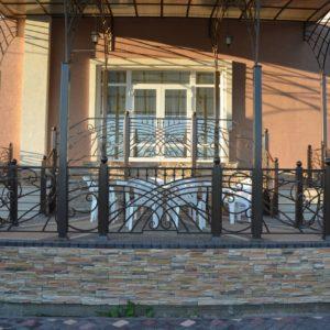 Ковка ограды калитки ворота9