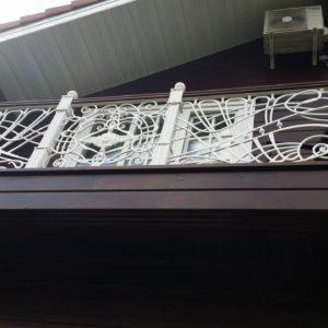 Ковка оконные решетки балконные перила1
