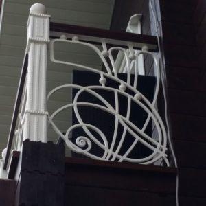 Ковка оконные решетки балконные перила2
