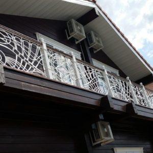 Ковка оконные решетки балконные перила3
