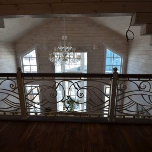 Ковка оконные решетки балконные перила5