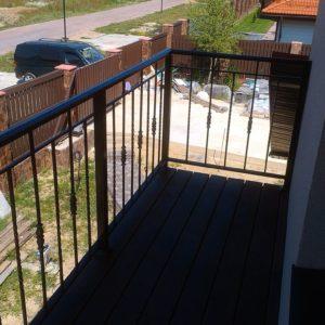 Ковка оконные решетки балконные перила7