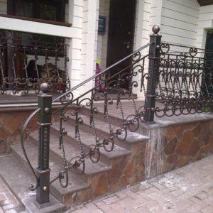 Кузня Лестницы и лестничные перила po-derevu1