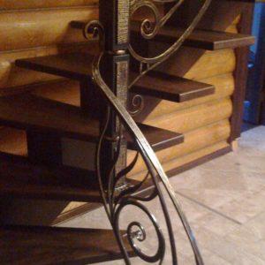 Кузня Лестницы и лестничные перила po-derevu4