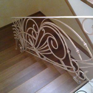 Кузня Лестницы и лестничные перила po-derevu6