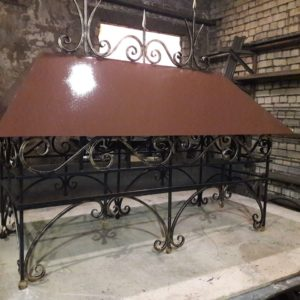 Кузня кованная мебель и предметы интерьера po-derevu22