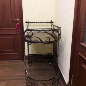 Кузня кованная мебель и предметы интерьера po-derevu27