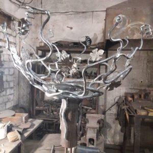 Кузня кованная мебель и предметы интерьера po-derevu6