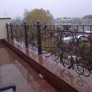 Кузня ограды калитки ворота po-derevu10