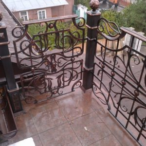 Кузня ограды калитки ворота po-derevu11