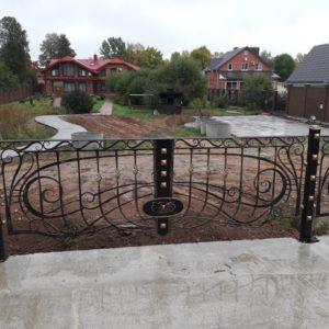 Кузня ограды калитки ворота po-derevu14