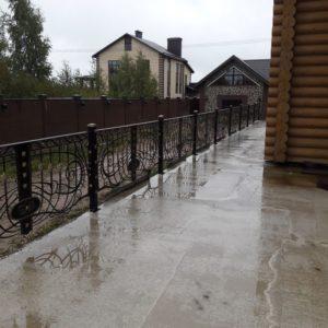 Кузня ограды калитки ворота po-derevu15