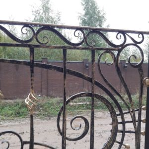 Кузня ограды калитки ворота po-derevu16