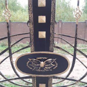 Кузня ограды калитки ворота po-derevu17