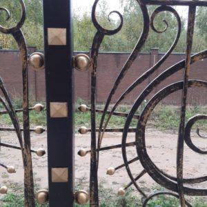 Кузня ограды калитки ворота po-derevu18
