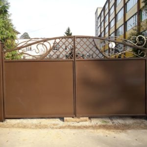 Кузня ограды калитки ворота po-derevu19