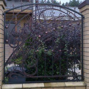 Кузня ограды калитки ворота po-derevu2