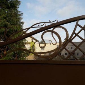 Кузня ограды калитки ворота po-derevu20