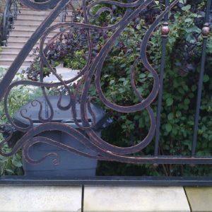Кузня ограды калитки ворота po-derevu3