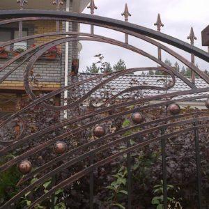 Кузня ограды калитки ворота po-derevu5