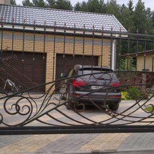 Кузня ограды калитки ворота po-derevu6