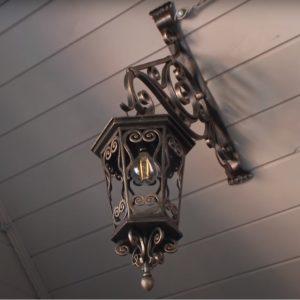 ковка светильник1