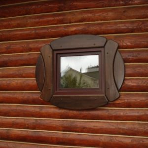 Окладка окон и дверей в бане_7