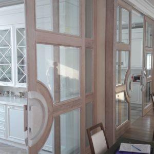Двери раздвижные по индивидуальному проекту