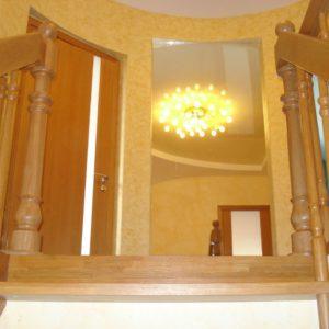деревянная лестница на больцах14