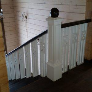 106_ лестница дерево комбинированная_2