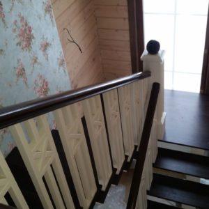 106_ лестница дерево комбинированная_4