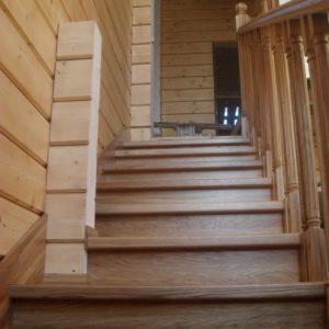 40_лестница из массива дуба_4