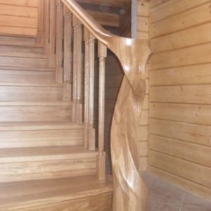 40_лестница из массива дуба_5