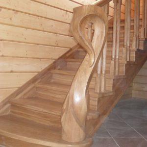 40_лестница из массива дуба_7