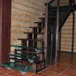 50_лестница дерево и стекло_11