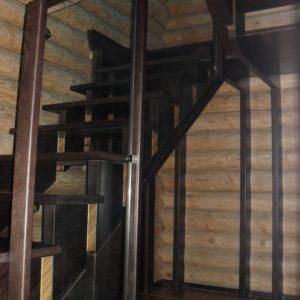 50_лестница дерево и стекло_12