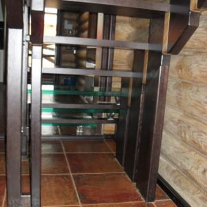 50_лестница дерево и стекло_18