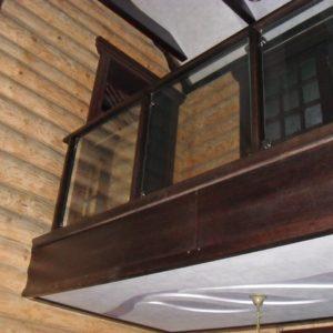 50_лестница дерево и стекло_21