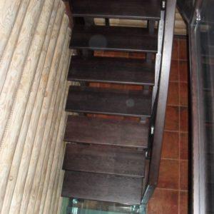 50_лестница дерево и стекло_5