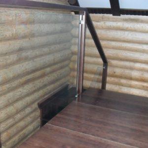 50_лестница дерево и стекло_6