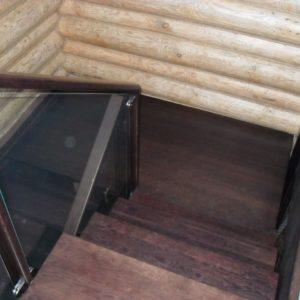 50_лестница дерево и стекло_7