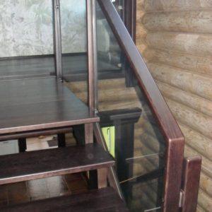 50_лестница дерево и стекло_8