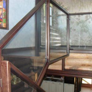 50_лестница дерево и стекло_9
