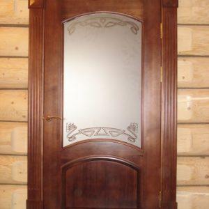 6.3_Распашные двери со стеклом_5